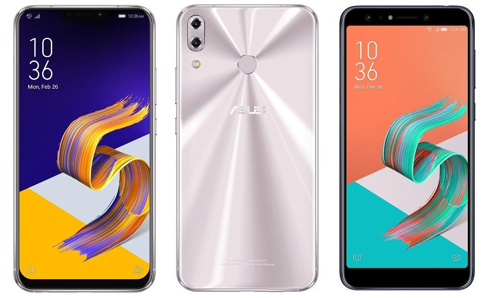 Asus Zenfone 5Z, Zenfone 5 und Zenfone 5 Lite im Vergleich (Bild: Asus)
