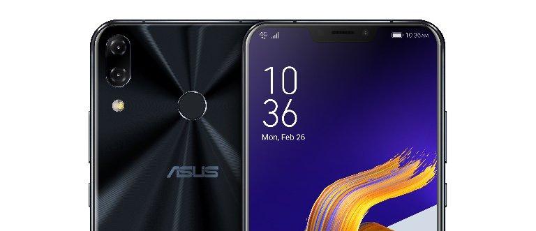 Die Rückseite des Asus ZenFone 5Z ist mal wieder sehr <em>shiny</em> geraten. Doch der Fingerabdrucksensor sitzt weit genug von den Kameralinsen entfernt (Bild: Asus)