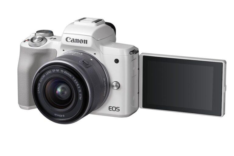 Canon EOS M50 Display
