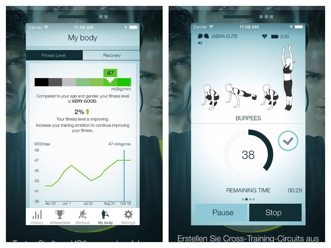 jabra elite sport in ear kopfh rer im test besser als. Black Bedroom Furniture Sets. Home Design Ideas