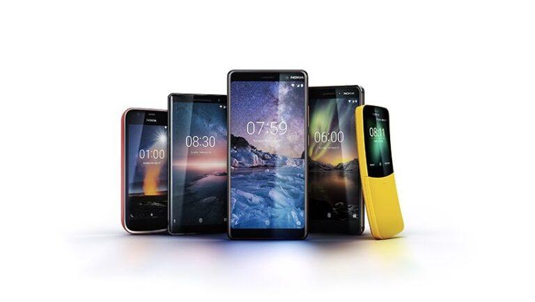 Nokia-Phones MWC 2018