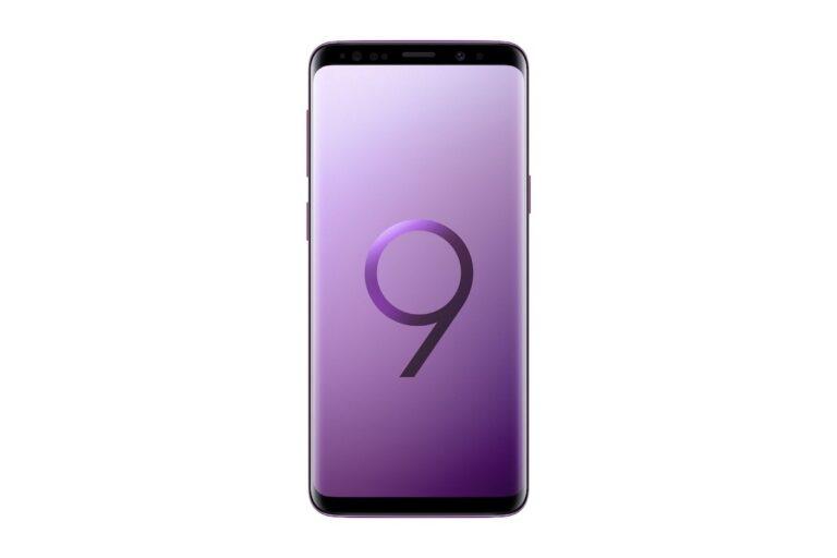 Neue Farbe Lilac Purple für das Galaxy S9