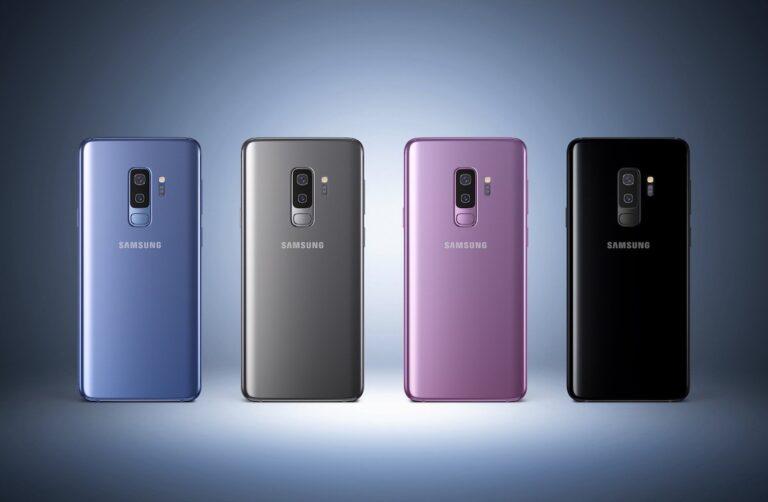 Das neue Samsung Galaxy S9 Plus hat eine Dualkamera (das kleine S9 nicht).