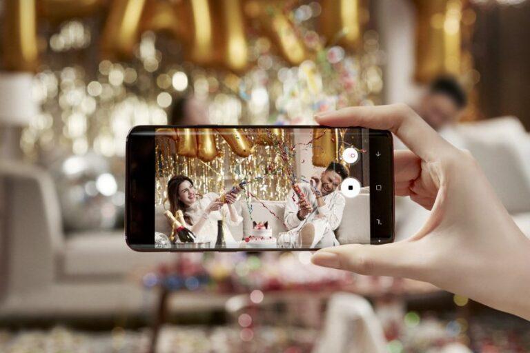Alles schon einmal gesehen? Samsungs Superzeitlupe im Galaxy S9 wurde von Sony schon vor einem Jahr erfunden.