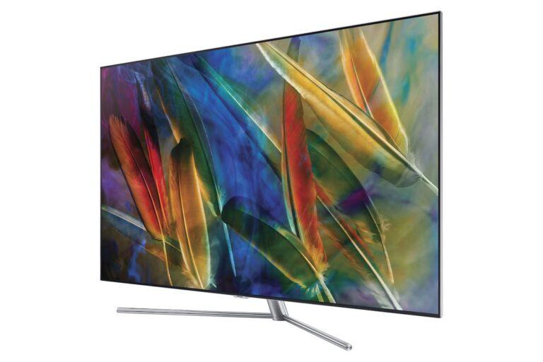 Dieser Samsung OLED-Fernseher heißt am Schluss Q7F. Bild: Samsung