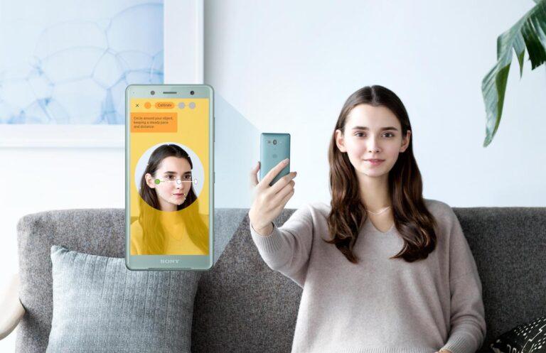 Sony Xperia XZ2 Compact Selfie