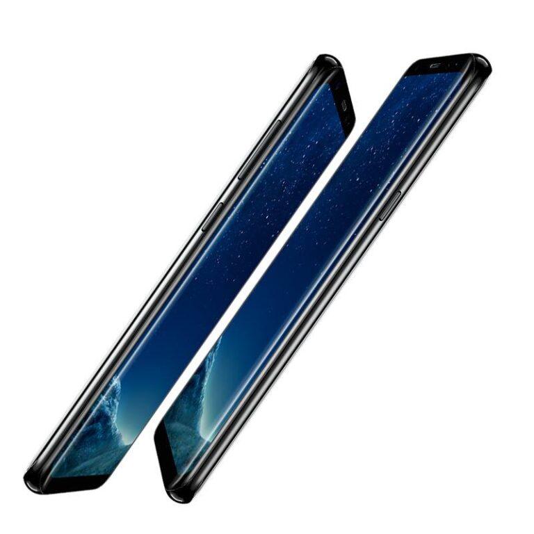 Zum Vergleich das Galaxy S8: Sieht auch 2018 noch fantastisch und keineswegs altmodisch aus. (Foto: Samsung)