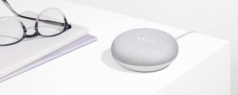 Ein Google Home Mini wird nicht benötigt. (Foto: Google)