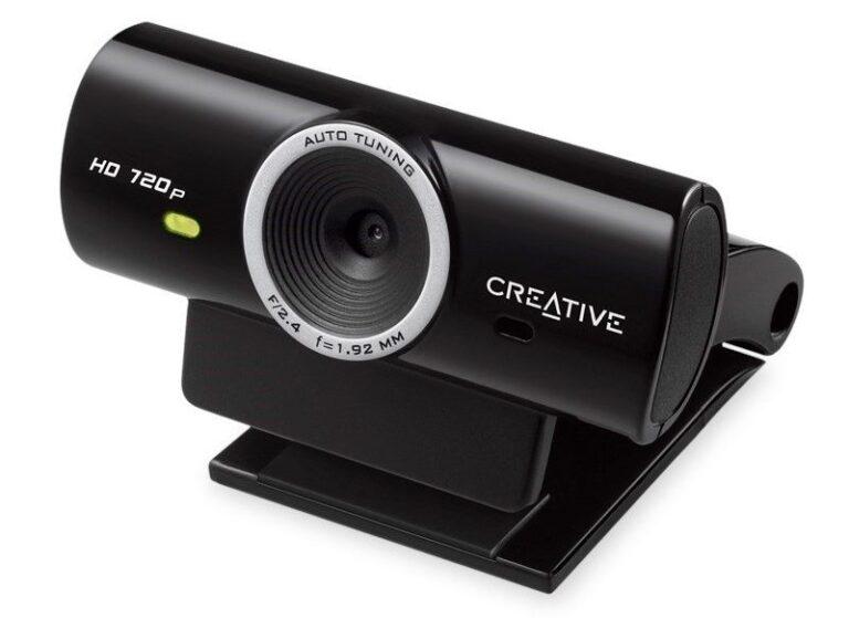Kein Highend, aber für den Alltag genügt diese Lösung als Skype-Kamera. (Foto: Creative Labs)