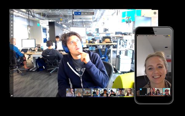 Jitsi möchte vor allem eines: Eine sichere Skype-Alternative sein. (Foto: Jitsi)