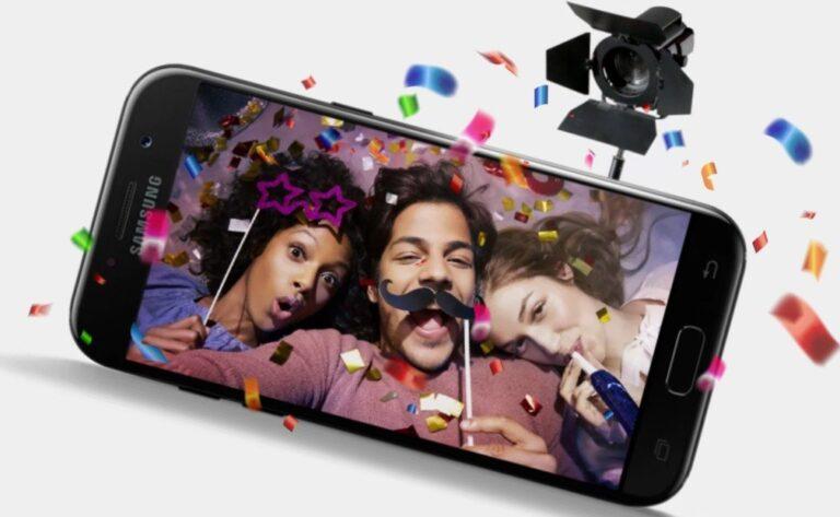 Das Samsung Galaxy A5 (2017) besitzt eine starke Front-Kamera - und das für nicht einmal viel Geld. (Foto: Samsung)