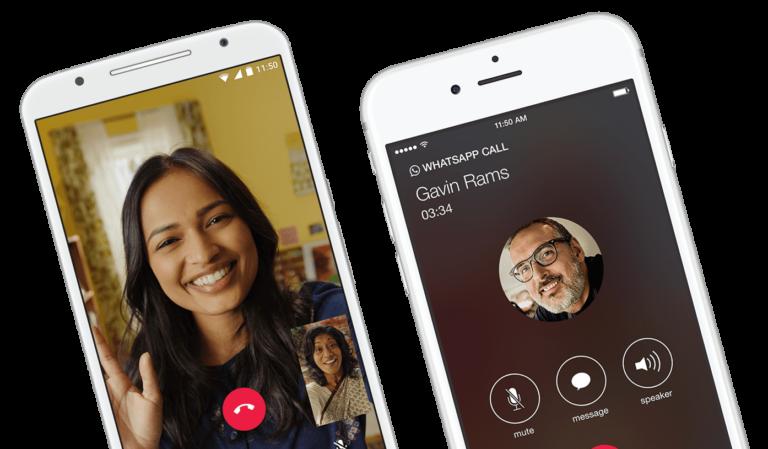 WhatsApp ist eine Alternative zu Skype, aber keine sicherere. (Foto: WhatsApp / Facebook)