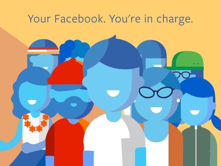 Facebook ist das, was du draus machst: Sicher richtig, aber das Unternehmen setzt die Leitlinien. Bild: Facebook