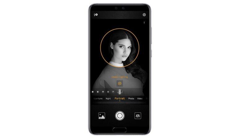 Huawei P20 Pro Porträtlicht