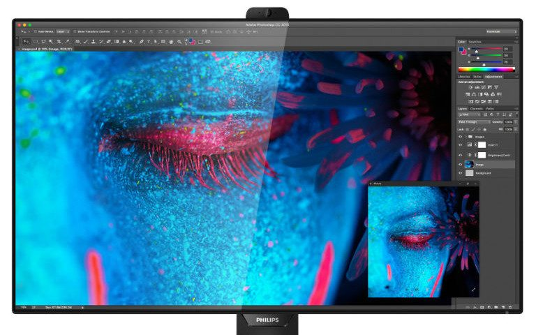 8K-Monitor Philips 328P8K (Bild: Philips)