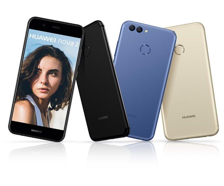 Das Nova 2 erhält ein Android 8 Update. (Foto: Huawei)