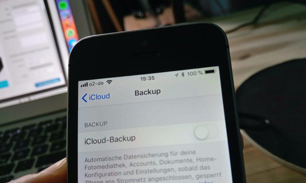 Smartphone-Backup: So sichert ihr eure Daten auf einem iPhone oder unter Android
