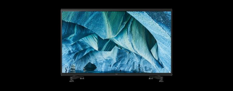 Der Sony KD-85ZG9 ist schon ein beeindruckender 8K-Fernseher. (Foto: Sony)