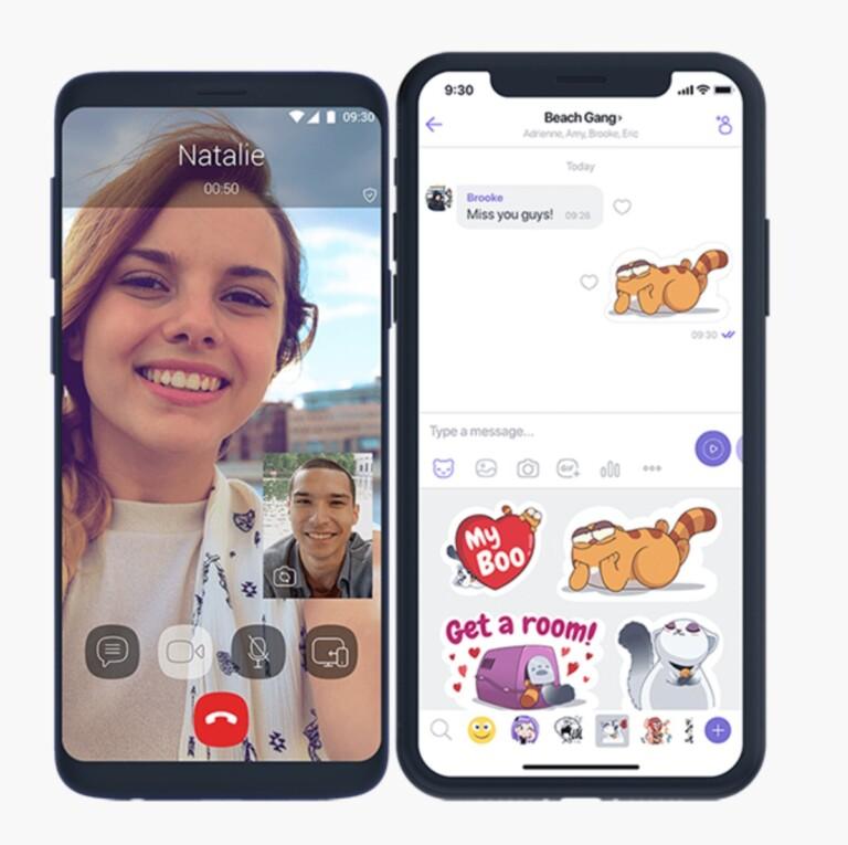 Viber sieht sich als vollwertige WhatsApp-Alternative und ist damit ein geeigneter Messenger mit Videofunktion. (Foto: Viber)