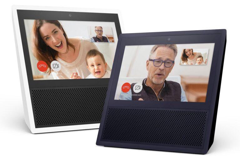 Mit dem Echo Show beispielsweise bekommt ihr auch Skype Videotelefonie. (Foto: Amazon)