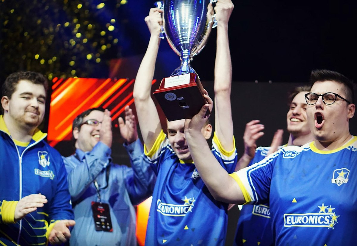 Euronics Gaming CS:GO-Team. Bild: Oliver Weber