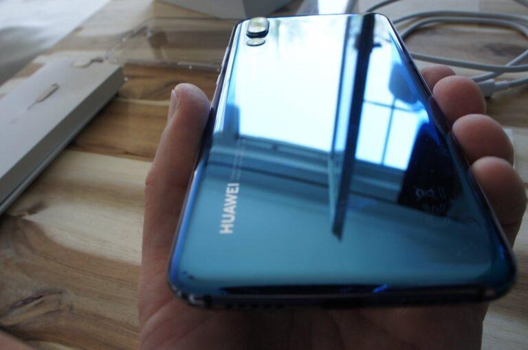 Bunt aber nicht kreischend: Huawei setzt im P20 Pro auf angenehme Farben.