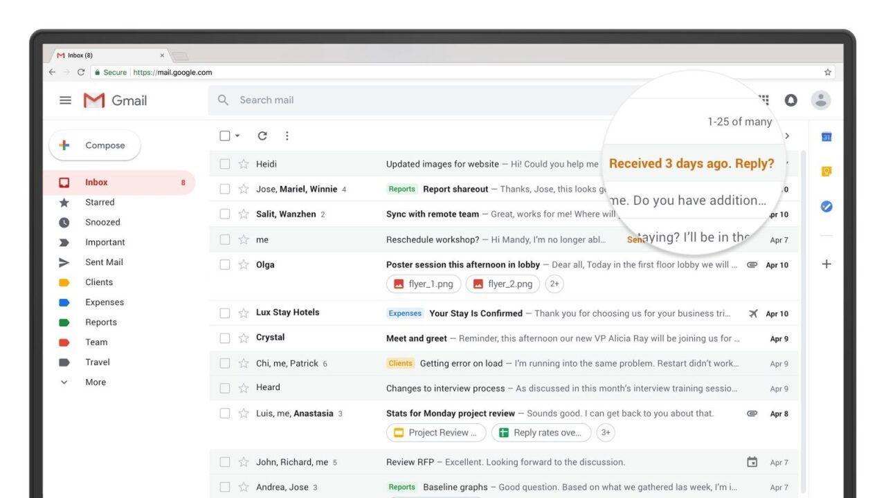 Neues GMail-Design zeigt: Nichts wird die E-Mail ersetzen, und das ist in Ordnung so