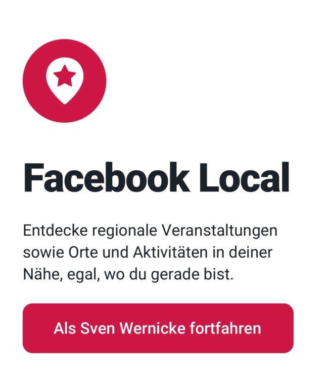Ohne Facebook-Account wird das nichts. (Foto: Screenshot)