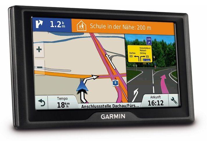 Ebenfalls eine gute Wahl als Navigon Alternative - das Garmin Drive 60. (Foto: Garmin)