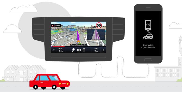 Sygic ist eigenständig nutzbar und lässt sich mit dem Auto verbinden. (Foto: Sygic Maps)