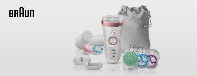 Der Braun 9-970 Sil-epil SkinSpa Senso Smart Wet & Dry Epilierer