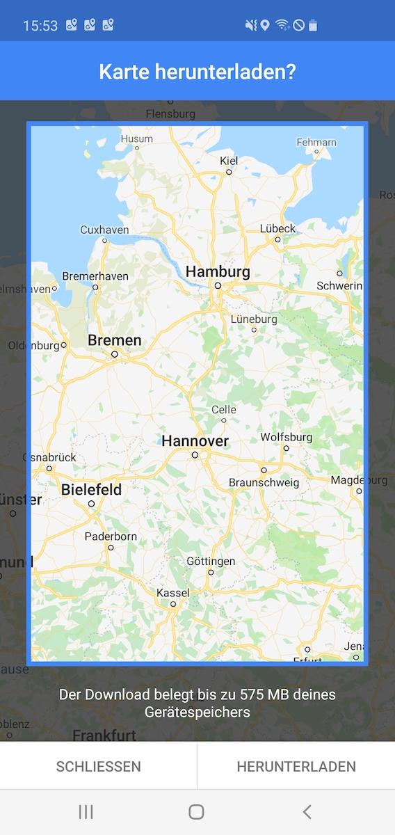 here karten download bricht ab
