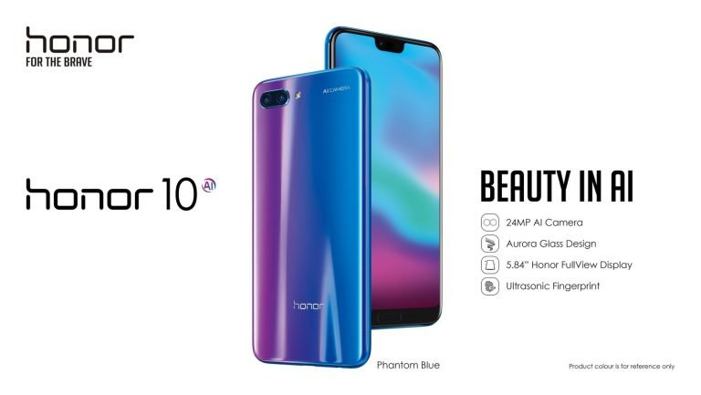 Honor 10 (PRNewsfoto/Honor)