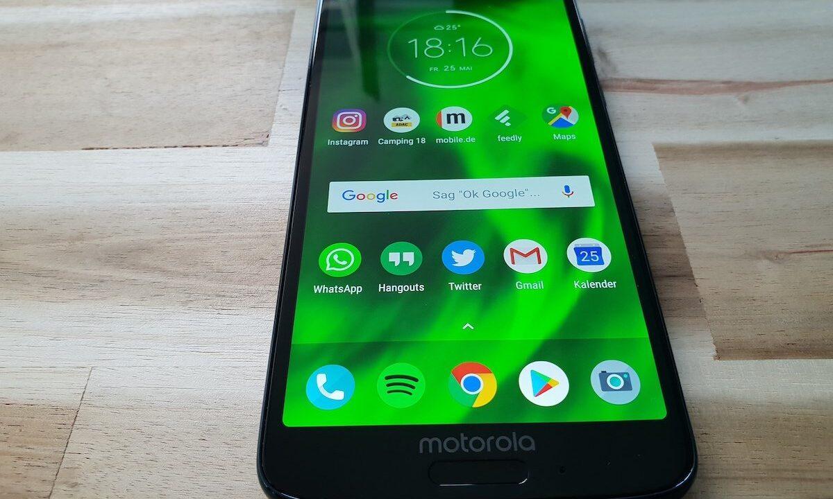 Motorola Moto G6 im Test: Attraktive neue Durchschnittsklasse