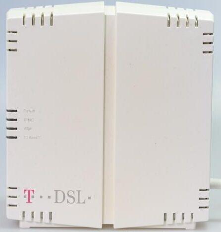 """Ein solches T-DSL-Modem brachte mir den ersten Breitband-Internetanschluss – mit 768 kbit/s in Downloadrichtung (Bild: <a href=""""https://commons.wikimedia.org/wiki/File:NTBBA.jpg"""" target=""""_blank"""">Nobsy/Wikimedia</a>)"""