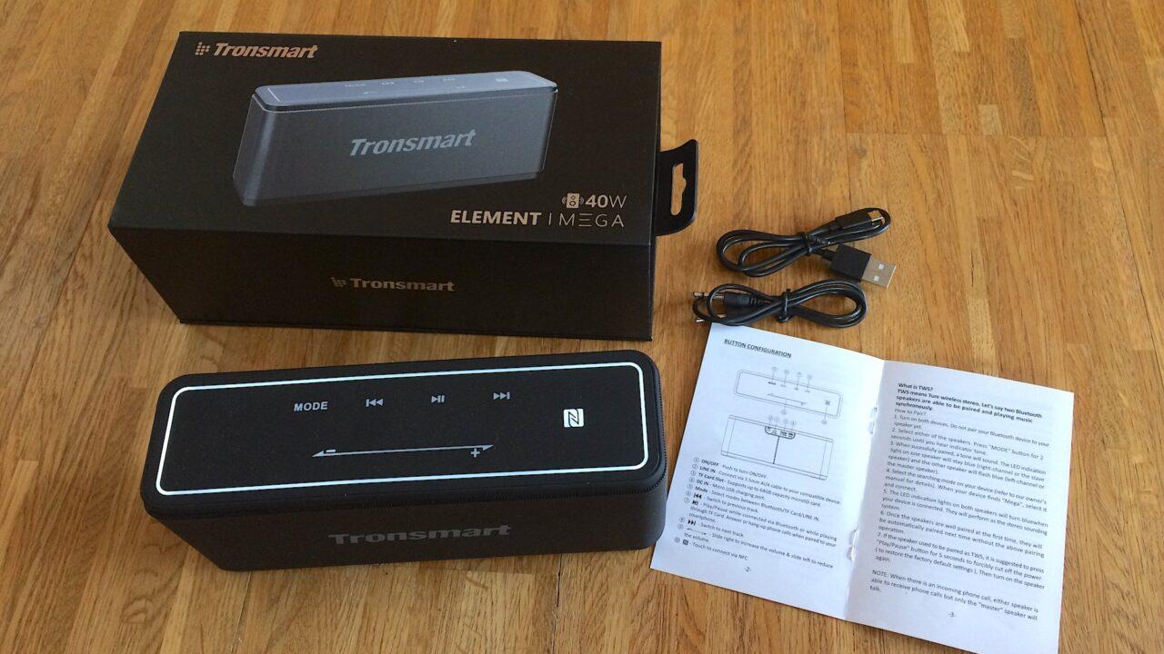 Tronsmart ausprobiert: Das muss eine Bluetooth-Box heute können