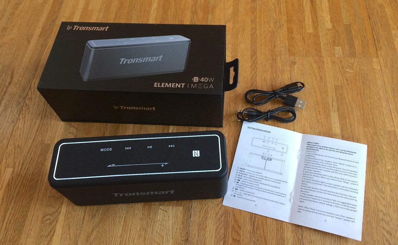 Bluetooth-Lautsprecher Tronsmart Element Mega