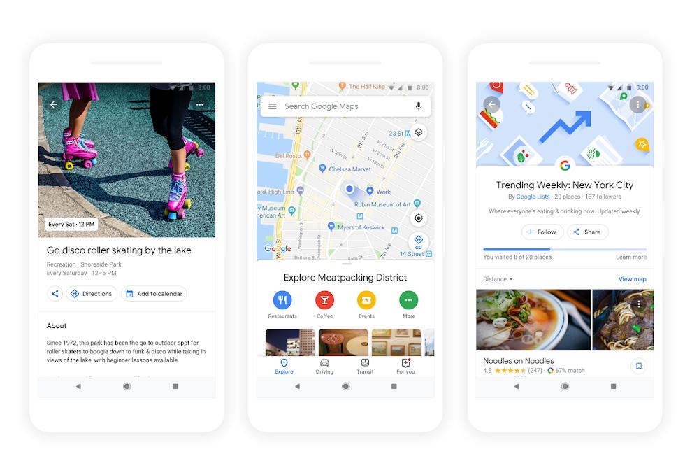 Google Maps greift Facebook an – mit künstlicher Intelligenz