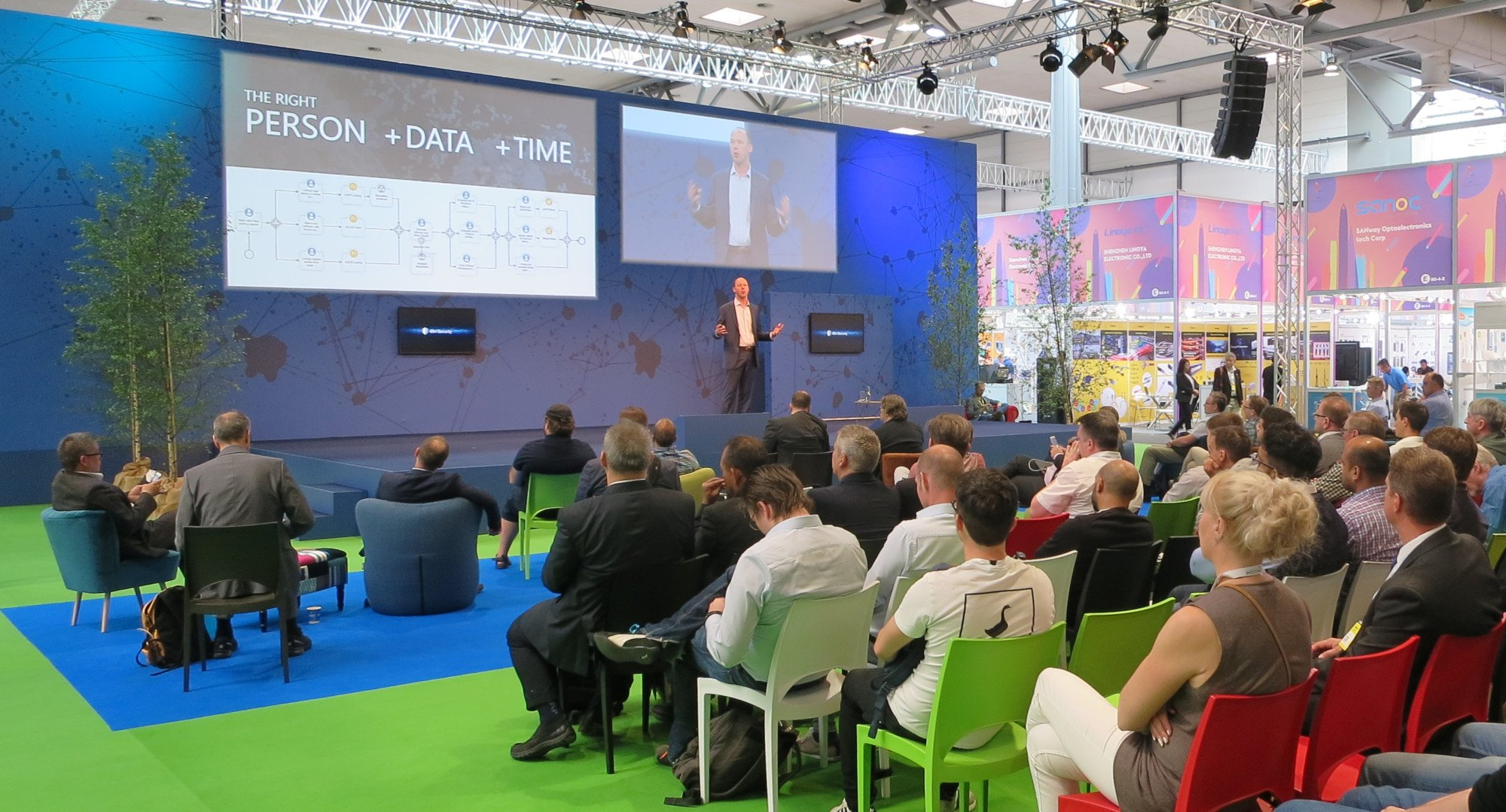 The right Person +Data +Time  – ein spannendes Thema? Viele meinen ja (Bild: Peter Giesecke)
