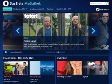 Das Erste Mediathek (Screenshot)