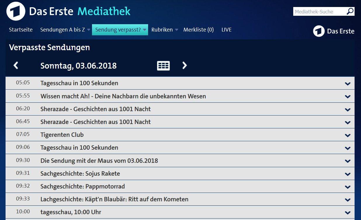 Das Erste Mediathek Tatort