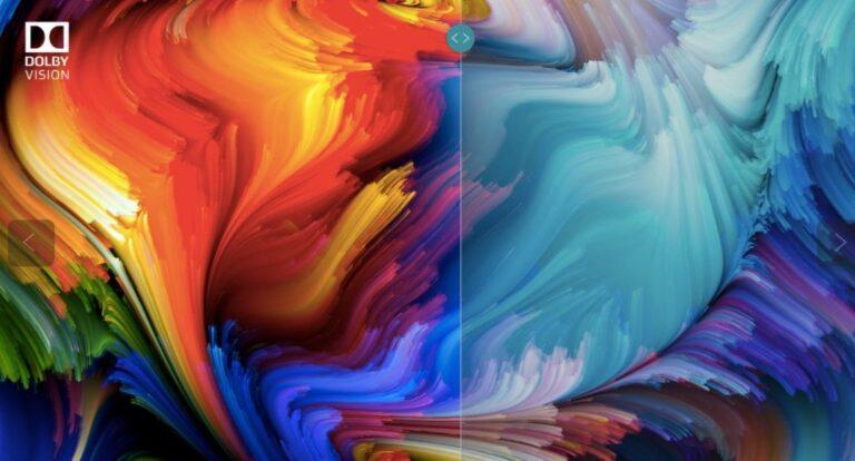 Dolby Vision für lebendigere Farben. Bild: Dolby