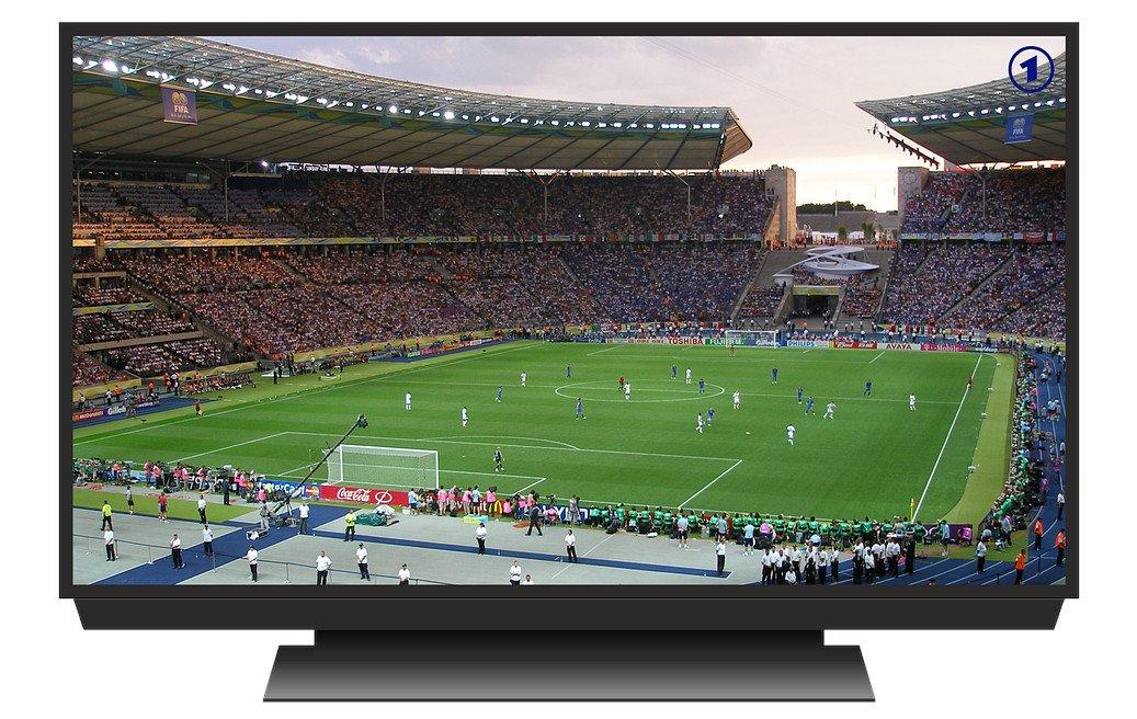 Fußballspiel auf dem Fernseher (Bild: Pixabay/2247188)