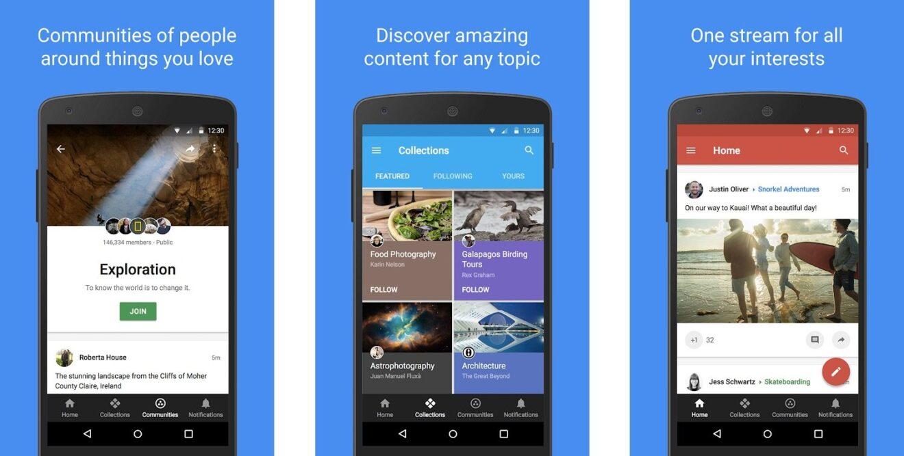 Google-Plus-App