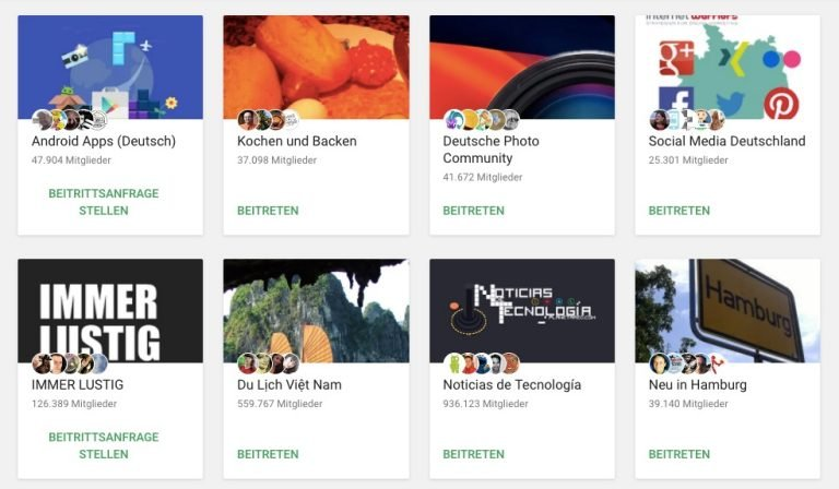 Tot? Nicht diese deutschsprachigen Communities mit mehreren zehntausend Nutzern.