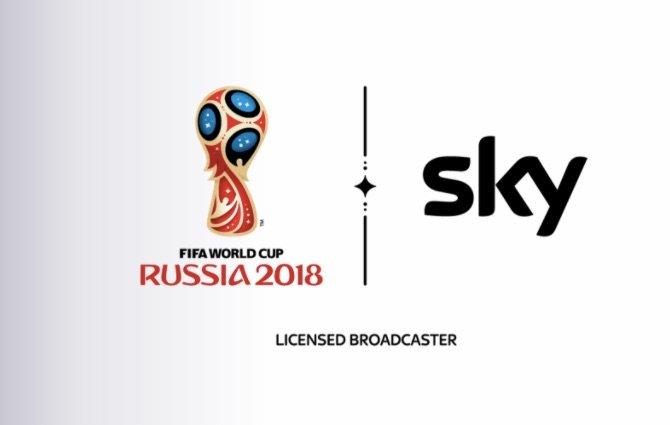 Sky zeigt 25 Spiele der WM in Ultra HD. Logo: FIFA/Sky