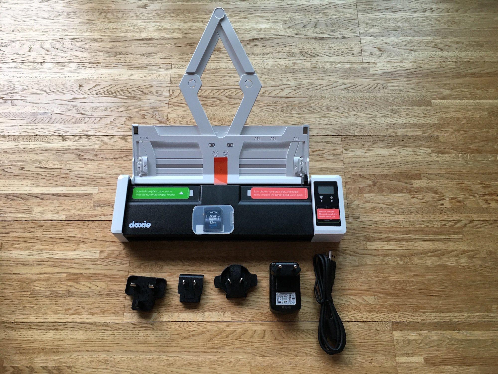 Papierloses Büro Durch Einzugsscanner Doxie Q Ein Versuch