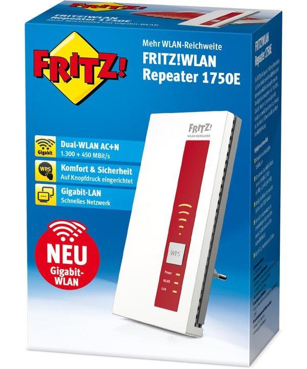 Der Fritz WLAN-Repeater 1750E bietet weitere Komfortfunktionen. (Foto: AVM)
