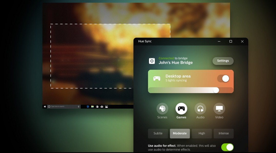 Starten Philips Hue : Hue sync synchronisiert eure philips hue lampen mit filmen musik