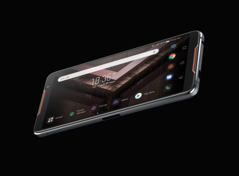 Das ROG Phone ist erst einmal ein Smartphone mit Android 8. (Foto: Asus)